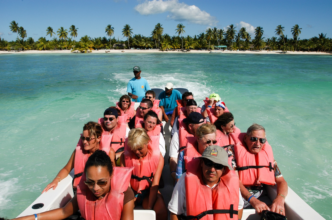 Boat Ride - How To Get to Saona Island